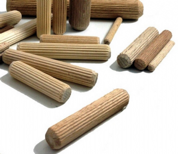 NEW  8mm dia by 40mm long hardwood beech dowels for construct & craft FREEPOST